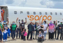 Tien patiënten met chartervlucht naar Colombia