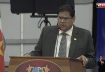 VIDEO: Persconferentie regering over crisisbeheersing in Suriname