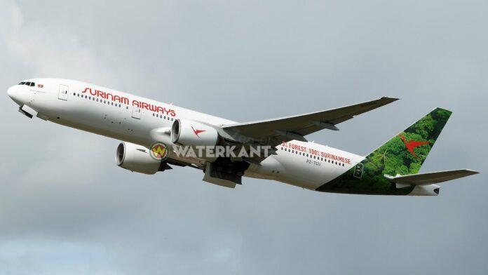 SLM Boeing 777-200ER weer onderweg naar Suriname