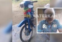 13-jarige bromfietser veroorzaker dodelijke aanrijding in Nickerie