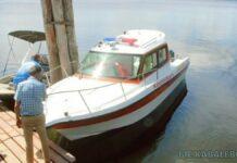 Ambulanceboot overgedragen aan MMC Apoera