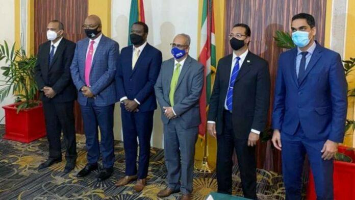 Goede afspraken gemaakt tussen Suriname en Guyana