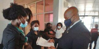 Leerkrachten Loka Loka vragen aandacht voor veiligheid in dorp