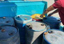 NDP-parlementariër Jayant Lalbiharie heeft 1400 liter brandstof gedoneerd