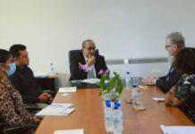 Nederlandse zaakgelastigde brengt kennismakingsbezoek aan LVV-minister