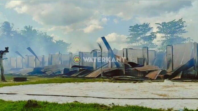 Negen lokalen Heilig Hartschool afgebrand
