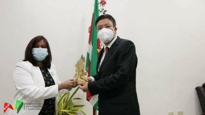 Via jeugd versterking bilaterale samenwerking Suriname en China