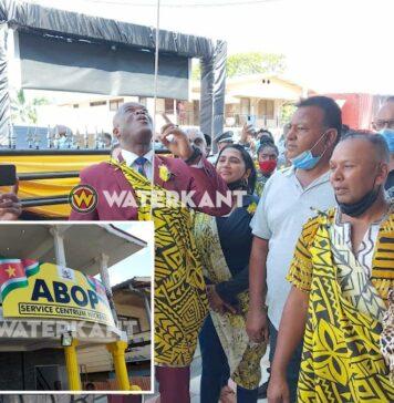 ABOP opent eerste Service Centrum in Nickerie