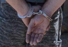 Aangehouden door de politie in Suriname