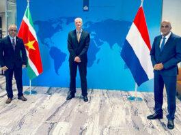 Blok: 'Goede ontmoeting met ministers uit Suriname'