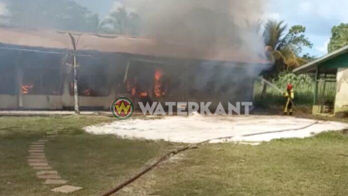 Brand Heilig Hartschool veroorzaakt door vleermuizenpoep in vliering