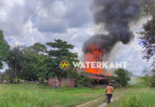 VIDEO: Woning Welgedacht C-weg afgebrand