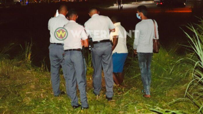 politie-agenten-suriname-bij-geval