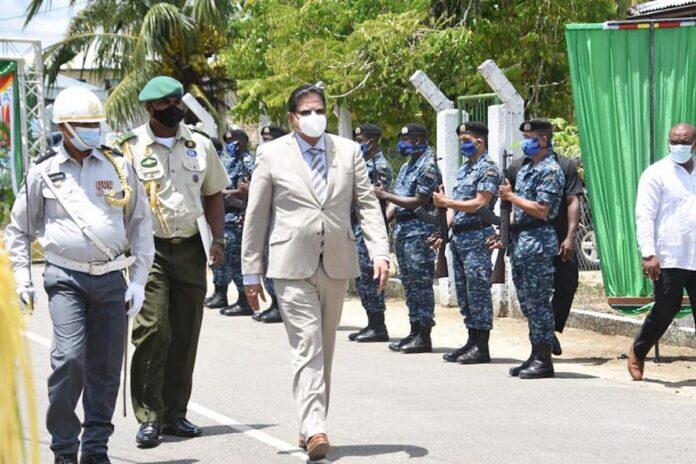 Regeringsdelegatie Suriname vandaag in Nickerie