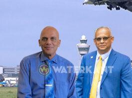 Ministers Achaibersing en Ramdin bezoeken Nederland en Frankrijk