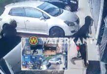Rovers overvallen juwelierszaak in Paramaribo