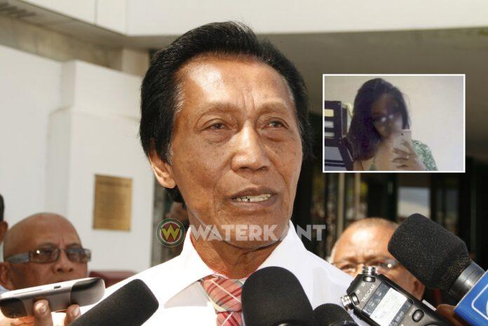 Politie onderzoekt pikant WhatsApp chatbericht Somohardjo