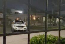 VIDEO: Politie achtervolging in Paramaribo-Noord tijdens avondklok