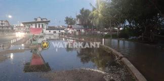 Hoog water zorgt op diverse plaatsen voor overlast in Suriname