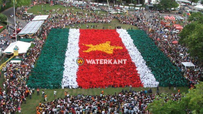Srefidensi viering in Suriname