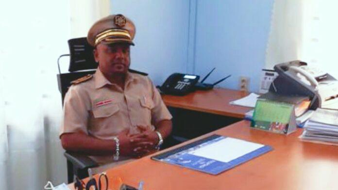 Districtscommissaris dc Suriname Shafiek Goelaman