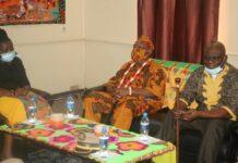Granman Paramaccaners en Kwinti's bezoeken ROS-minister