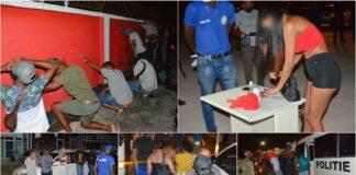 Meer dan 200 lockdown-overtreders overgebracht naar Politieacademie Suriname