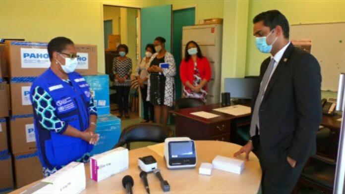 PAHO en WHO ondersteunen Volksgezondheid met testkits