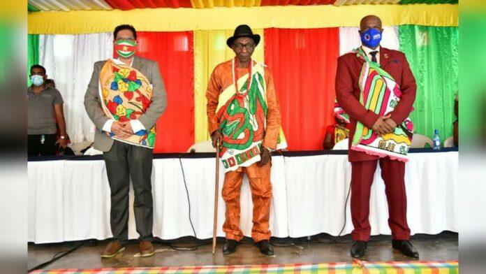 Regering wil goede wisselwerking met traditioneel gezag en gemeenschappen