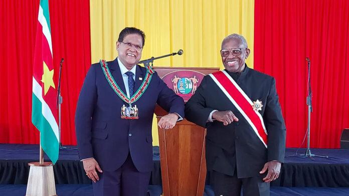 Hoogste onderscheiding voor oud-president Ronald Venetiaan