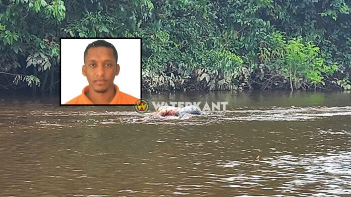 In rivier aangetroffen lijk van vermiste man, vermoedelijk sprake van misdrijf