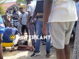 Onschuldige jongen door politiekogel geraakt