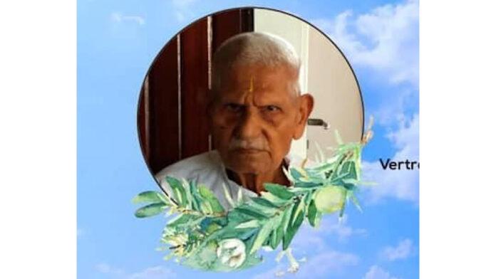 Oudste Pandit Sanatan Dharm Suriname overleden