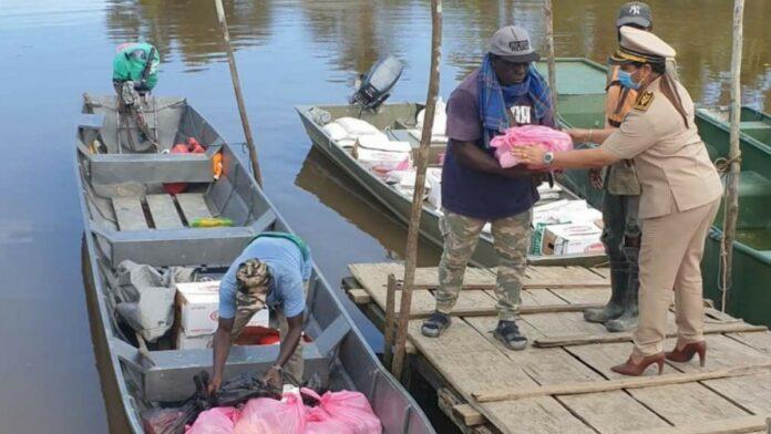 Distributie landelijk voedselpakketten project in Saramacca afgerond