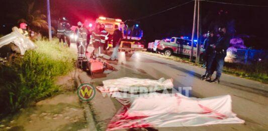Meerdere doden bij verkeersongeval Mohamed Rashied Pierkhanweg