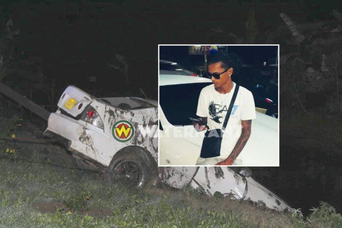 Lichaam van 23-jarige automobilist uit goot gehaald
