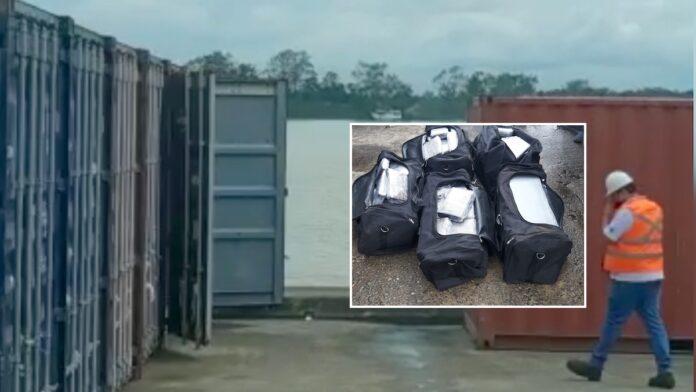 Tassen met drugs aangetroffen in container haven Suriname
