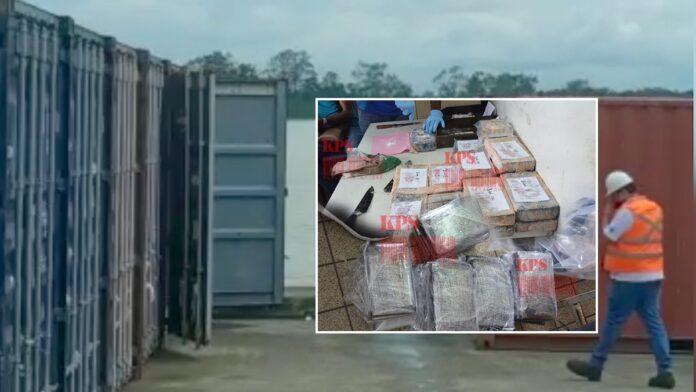 Ruim 140 kg cocaïne in vijf sporttassen op haven Suriname