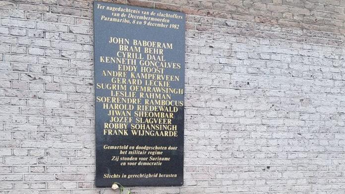 Jaarlijkse 8 Decemberherdenking in Amsterdam