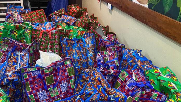 Kerstpakketten voor minder daadkrachtigen in Suriname
