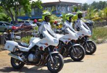 verkeersdeelnemers bekeurd door Motor Surveillance Dienst