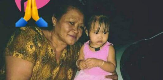 '2-jarig kindje rende straat op, oma ging haar achterna'