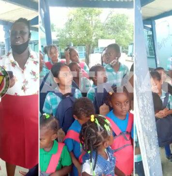 500 schooltassen gedoneerd aan schoolkinderen in Suriname