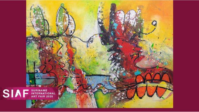 Eerste Suriname International Art Fair vandaag ten einde