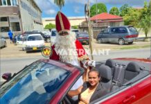VIDEO: Sinterklaas vandaag gespot in Suriname