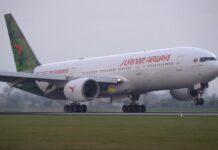 VIDEO: SLM voert allereerste passagiersvlucht uit met eigen B777-200ER