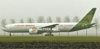 SLM Boeing 777 in Duitsland, vliegt vrijdag terug naar Suriname