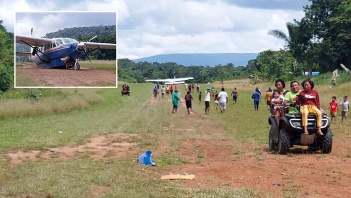 Onderzoek naar beschadiging landingsgestel van vliegtuig