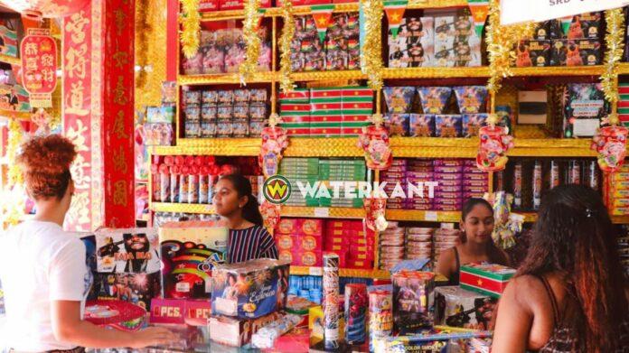 Groothandel verkoop vuurwerk gestart in Suriname