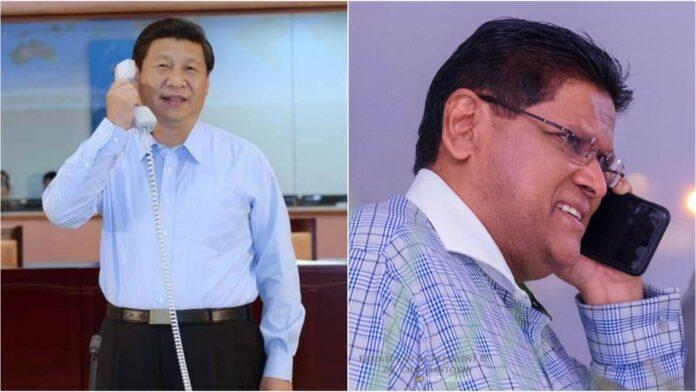 Chinese President Xi Jinping wenst Santokhi een spoedig herstel toe
